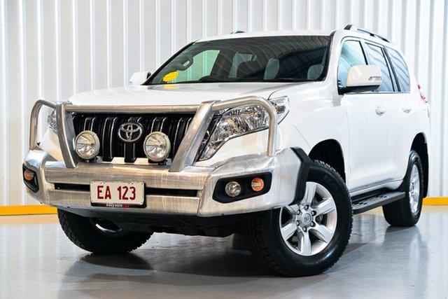 Used Toyota Landcruiser Prado GDJ150R GXL Hendra, 2016 Toyota Landcruiser Prado GDJ150R GXL White 6 Speed Sports Automatic Wagon