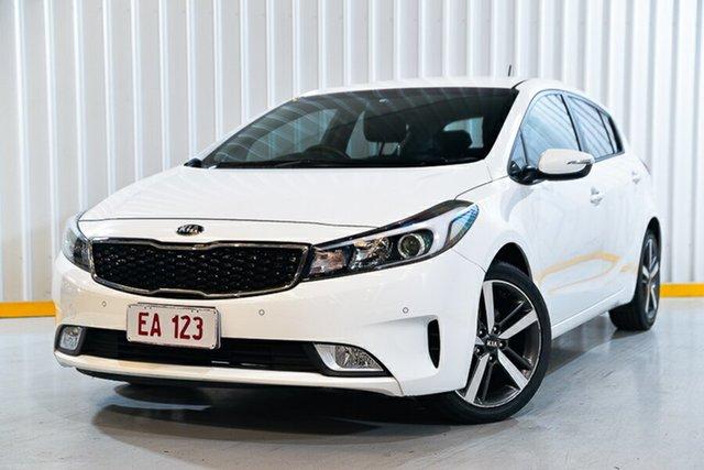 Used Kia Cerato YD MY18 Sport Hendra, 2018 Kia Cerato YD MY18 Sport White 6 Speed Sports Automatic Hatchback