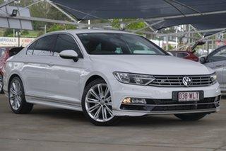2016 Volkswagen Passat 3C (B8) MY16 140TDI DSG Highline White 6 Speed Sports Automatic Dual Clutch.