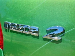 2011 Mazda 2 DE10Y2 MY12 Neo Green 4 Speed Automatic Hatchback