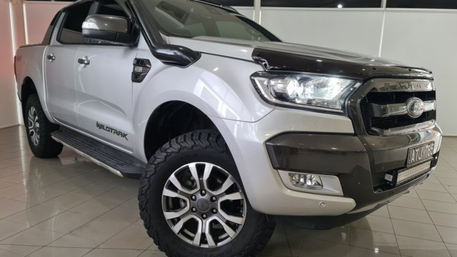 Used Ford Ranger PX MkII 2018.00MY Wildtrak Double Cab Deer Park, 2018 Ford Ranger PX MkII 2018.00MY Wildtrak Double Cab 6 Speed Sports Automatic Utility