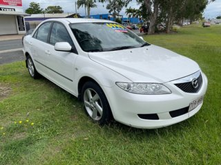 2004 Mazda 6 GG1031 MY04 Classic White 4 Speed Sports Automatic Sedan
