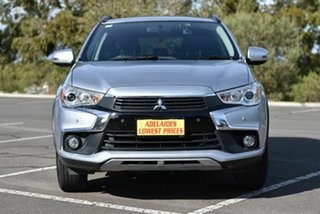 2016 Mitsubishi ASX XC MY17 LS 2WD Silver 6 Speed Constant Variable Wagon.