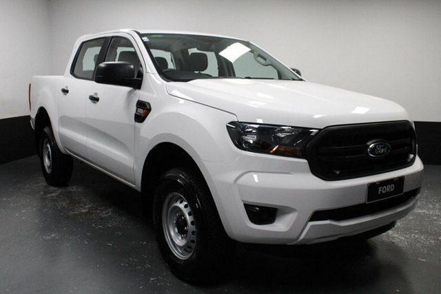 Used Ford Ranger PX MkIII 2019.00MY XL Hi-Rider Hamilton, 2019 Ford Ranger PX MkIII 2019.00MY XL Hi-Rider Arctic White 6 Speed Sports Automatic