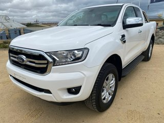 2019 Ford Ranger PX MkIII 2019.00MY XLT White 6 Speed Sports Automatic Super Cab Pick Up
