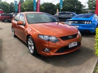 2011 Ford Falcon FG Upgrade XR6 Limited Edition Orange 6 Speed Auto Seq Sportshift Sedan.