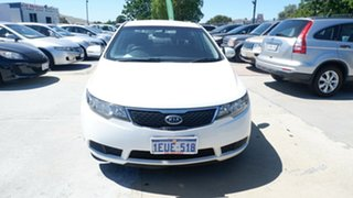 2011 Kia Cerato TD MY11 S White 6 Speed Sports Automatic Sedan