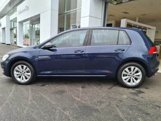 2014 Volkswagen Golf VII MY14 90TSI DSG Comfortline Blue 7 Speed Sports Automatic Dual Clutch