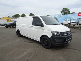 2015 Volkswagen Transporter T6 MY16 TDI340 LWB Candy White 6 Speed Manual Van.