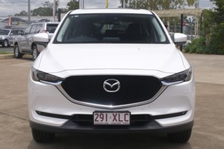 2017 Mazda CX-5 KF4WLA GT SKYACTIV-Drive i-ACTIV AWD White 6 Speed Sports Automatic Wagon