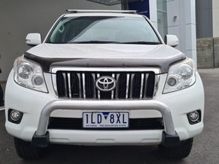 2010 Toyota Landcruiser Prado GRJ150R GXL White 5 Speed Sports Automatic Wagon