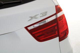 2011 BMW X3 F25 xDrive30d Steptronic White 8 Speed Automatic Wagon