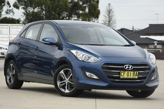 2015 Hyundai i30 GD3 Series 2 Active X Blue 6 Speed Manual Hatchback.
