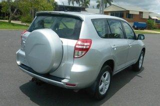 2010 Toyota RAV4 ACA33R MY09 CV Silver 4 Speed Automatic Wagon.