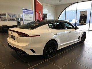 2020 Kia Stinger CK MY20 GT Fastback Snow White Pearl 8 Speed Sports Automatic Sedan
