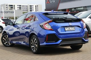 2019 Honda Civic MY19 VTi-S Brilliant Sporty Blue Continuous Variable Hatchback.