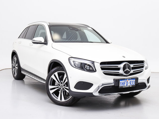 Used Mercedes-Benz GLC250 253 MY17 , 2017 Mercedes-Benz GLC250 253 MY17 White 9 Speed Automatic Wagon