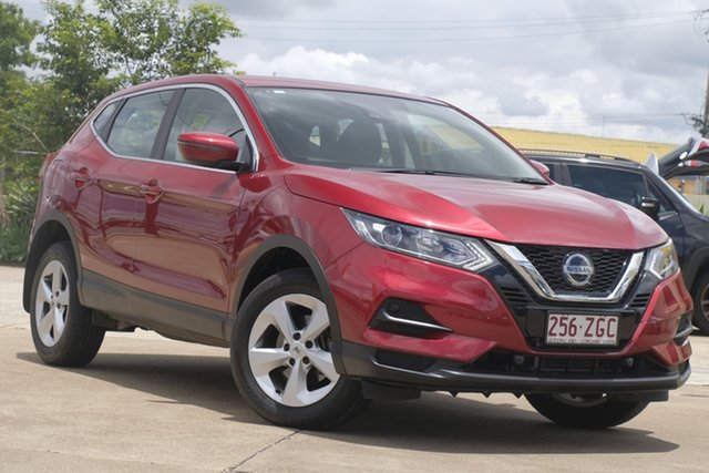 Used Nissan Qashqai J11 Series 2 ST X-tronic Bundamba, 2019 Nissan Qashqai J11 Series 2 ST X-tronic Magnetic Red 1 Speed Constant Variable Wagon