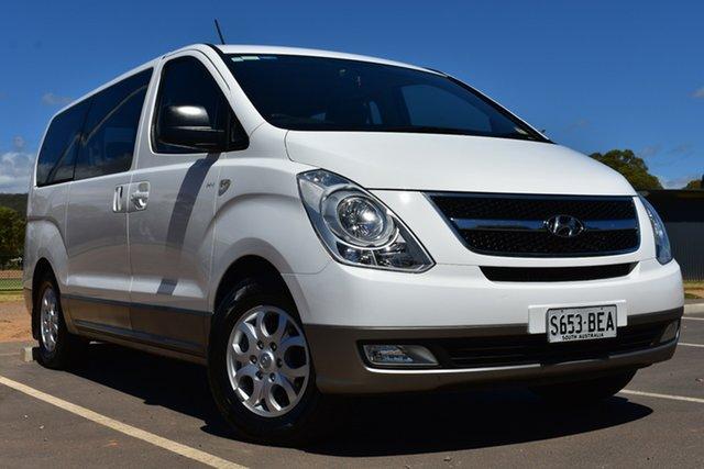 Used Hyundai iMAX TQ-W MY13 St Marys, 2014 Hyundai iMAX TQ-W MY13 White 4 Speed Automatic Wagon