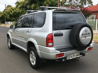 2003 Suzuki Grand Vitara SQ625 S3 Silver 4 Speed Automatic Wagon