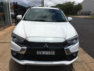 2017 Mitsubishi ASX XC LS White Constant Variable