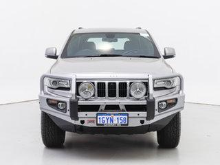 2015 Jeep Grand Cherokee WK MY15 Laredo (4x4) Silver 8 Speed Automatic Wagon.