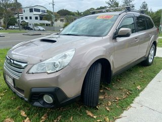 2013 Subaru Outback B5A MY13 2.0D Lineartronic AWD Bronze 7 Speed Constant Variable Wagon.