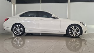 2015 Mercedes-Benz C-Class W205 C200 7G-Tronic + Midnight Blue 7 Speed Sports Automatic Sedan.