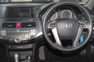 2012 Honda Accord 8th Gen MY12 V6 Luxury White 5 Speed Sports Automatic Sedan