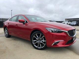 2017 Mazda 6 GL1021 Atenza SKYACTIV-Drive Soul Red 6 Speed Sports Automatic Sedan.