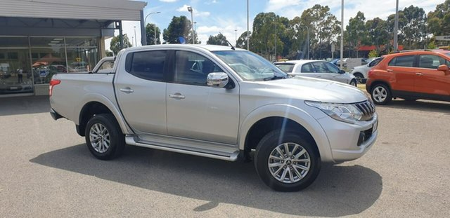 Used Mitsubishi Triton MQ MY17 GLS Double Cab Elizabeth, 2017 Mitsubishi Triton MQ MY17 GLS Double Cab Silver 5 Speed Sports Automatic Utility