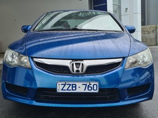 2010 Honda Civic VTI Blue Manual Sedan