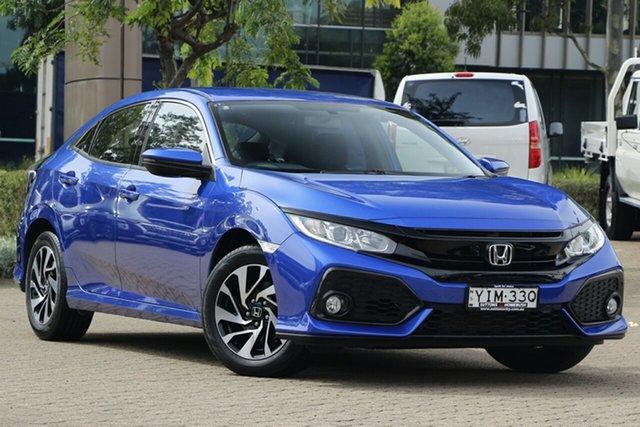 Used Honda Civic MY19 VTi-S Rosebery, 2019 Honda Civic MY19 VTi-S Brilliant Sporty Blue Continuous Variable Hatchback