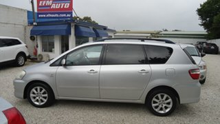 2007 Toyota Avensis Verso ACM21R Ultima Silver 4 Speed Automatic Wagon.