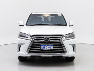 2018 Lexus LX570 URJ201R Facelift White 8 Speed Automatic Wagon.