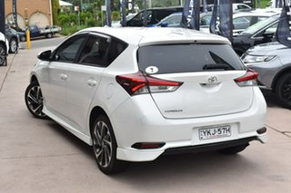 2016 Toyota Corolla ZRE182R SX S-CVT White 7 Speed Constant Variable Hatchback.