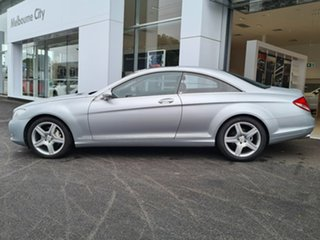 2007 Mercedes-Benz CL-Class CL500 Silver 7 Speed Automatic Coupe