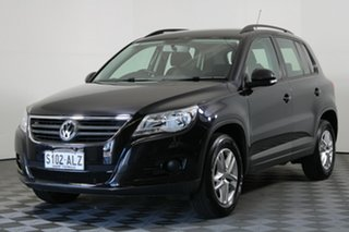 2008 Volkswagen Tiguan 5N MY09 103TDI 4MOTION Black 6 Speed Sports Automatic Wagon