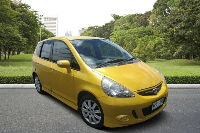 Used Honda Jazz GD VTi-S Murray Bridge, 2007 Honda Jazz GD VTi-S Yellow 7 Speed Constant Variable Hatchback