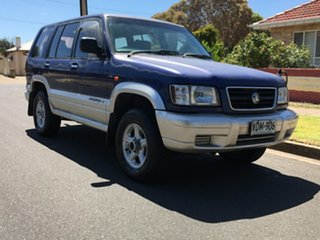 1998 Holden Jackaroo L8 SE Metallic Blue/Silver 4 Speed Automatic Wagon.