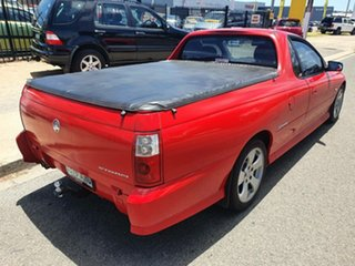 2005 Holden Ute VZ Storm S Red 4 Speed Automatic Utility.