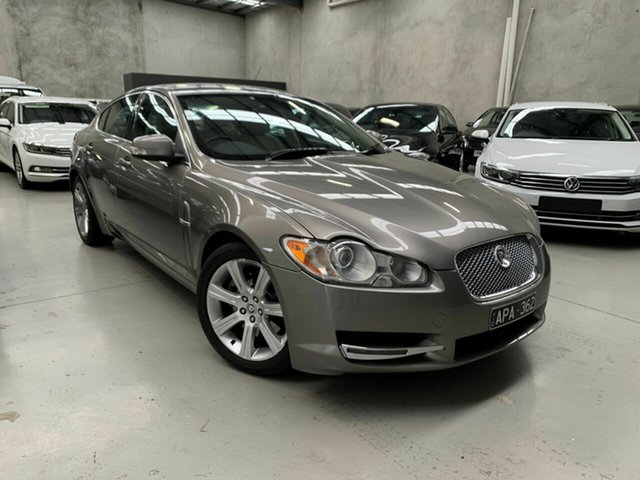 Used Jaguar XF X250 Luxury Coburg North, 2008 Jaguar XF X250 Luxury Gold 6 Speed Sports Automatic Sedan