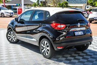 2016 Renault Captur J87 Expression EDC Black / Wh 6 Speed Sports Automatic Dual Clutch Hatchback.