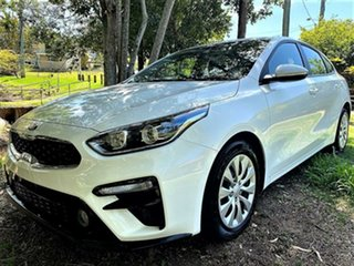 2019 Kia Cerato BD MY19 S Snow White Pearl 6 Speed Sports Automatic Hatchback.