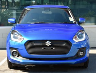 2020 Suzuki Swift AZ Series II GLX Turbo Speedy Blue 6 Speed Sports Automatic Hatchback