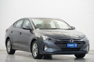 2019 Hyundai Elantra AD.2 MY20 Active Iron Grey 6 Speed Sports Automatic Sedan