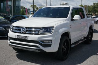 2019 Volkswagen Amarok 2H MY19 TDI580 4MOTION Perm Ultimate White 8 Speed Automatic Utility