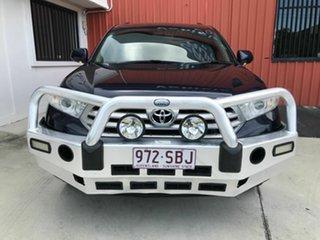 2012 Toyota Kluger GSU45R MY12 KX-S AWD Blue 5 Speed Sports Automatic Wagon.