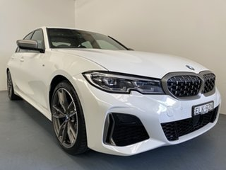 2020 BMW 3 Series G20 M340i Steptronic xDrive Pure Alpine White 8 Speed Sports Automatic Sedan.