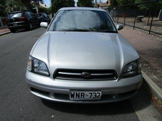 2001 Subaru Liberty MY02 Heritage (AWD) Gold 4 Speed Automatic Sedan.